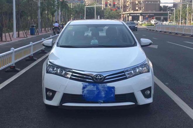 二手车2014款 卡罗拉 1.6L CVT GL-i