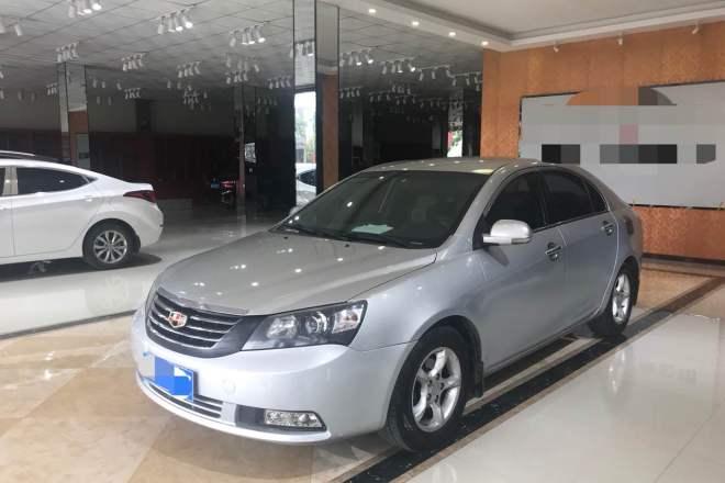 二手车2012款 帝豪EC7-RV 1.8L 手动 舒适型
