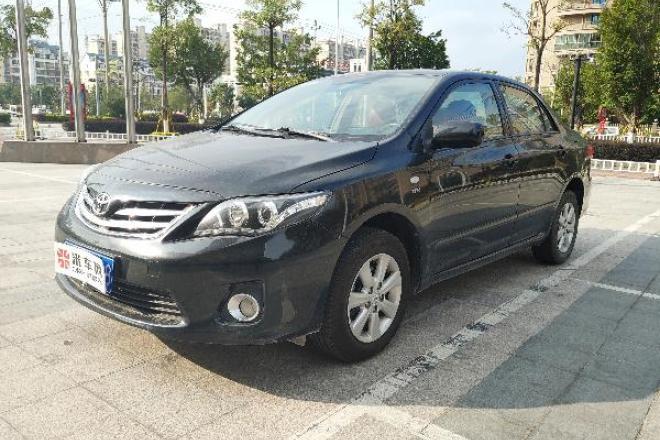 二手车2013款 卡罗拉 1.6L GL炫酷版 4AT