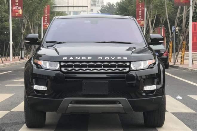 二手车2012款 揽胜极光(进口) 2.0T 5门耀致版