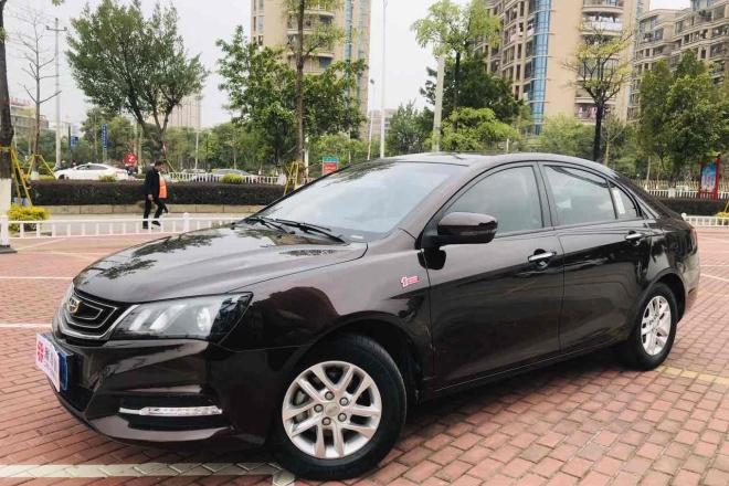 二手车2017款 帝豪 三厢百万款 1.5L CVT豪华型