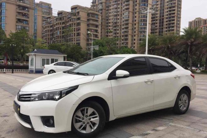 莆田二手车2017款 卡罗拉 1.2T CVT GL